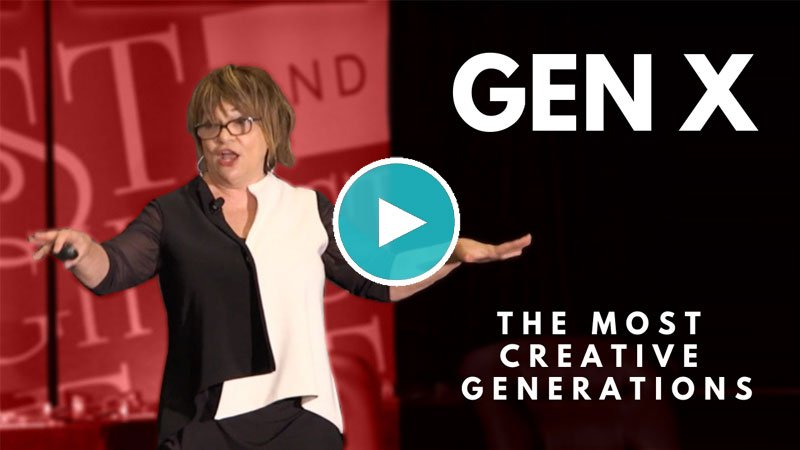 GEN X – The Most Creative of All the Generations
